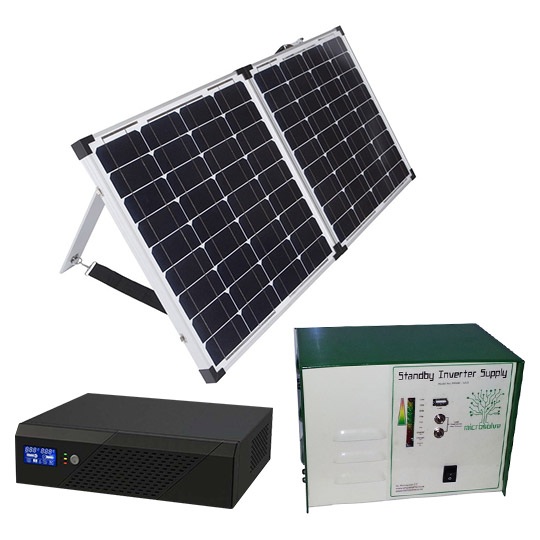 Grid Connected Inverters: Inverter powered by 220V and/or solar power