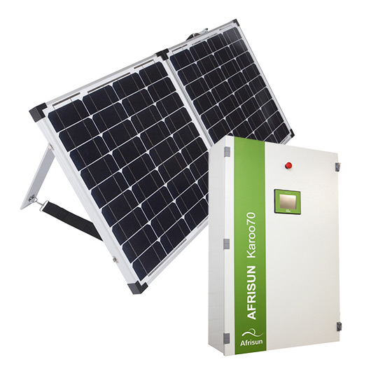 Grid Tied Solar Inverters: Fully integrated solar power and battery backup
